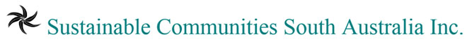 Sustainable communites South Australia logo.