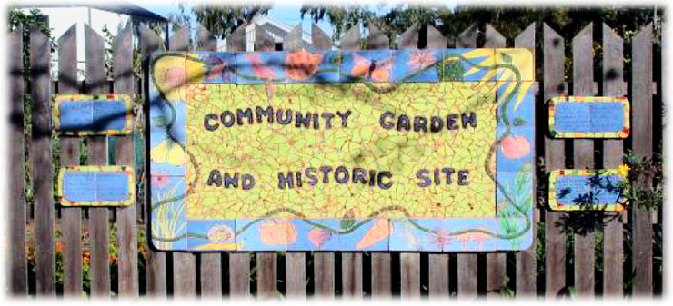 Faer Avenue Community Garden and Historic Site