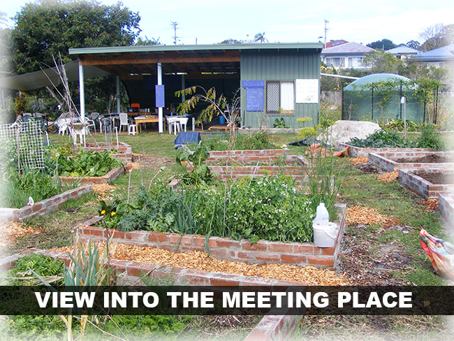 coffs community garden meeting place