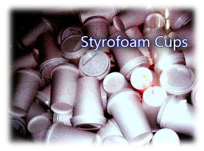 Styrofoam cups may last forever