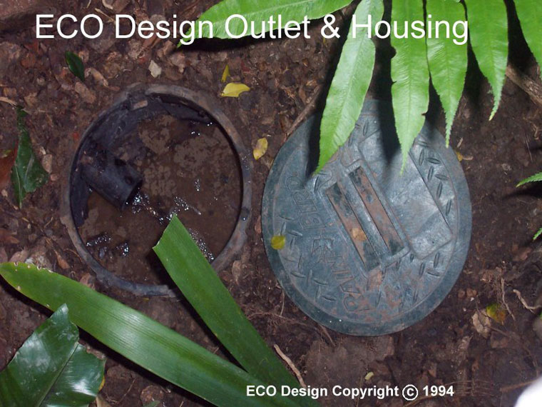 GreyWater System Outlet