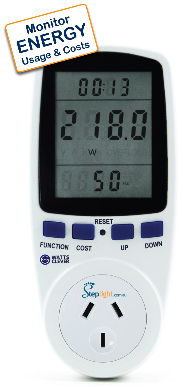 Plug In Power Meter : Home energy monitors and audits