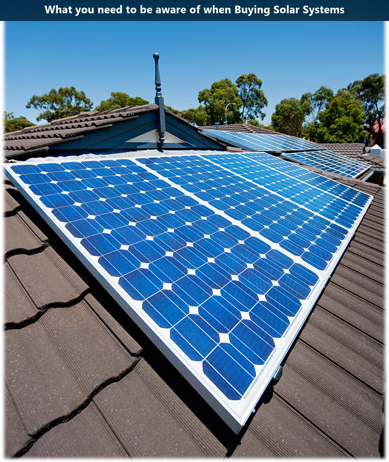What you need to be aware of when buying solar panels