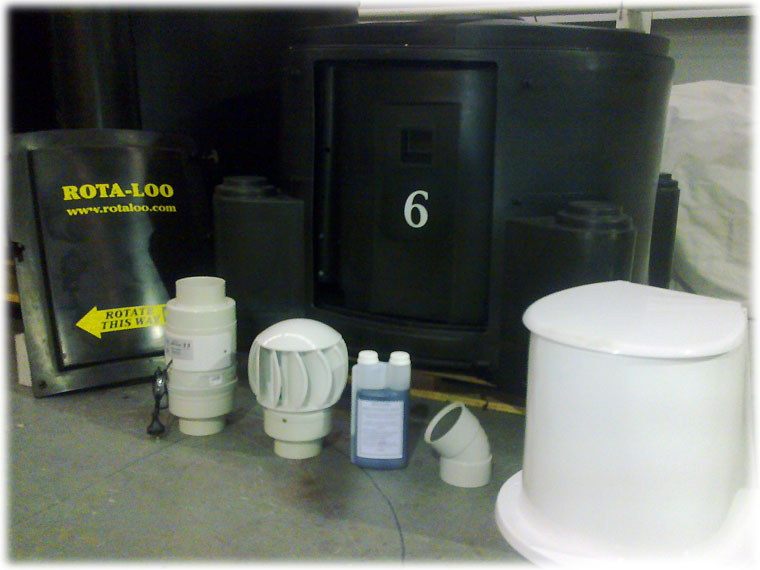 Composting Toilet System