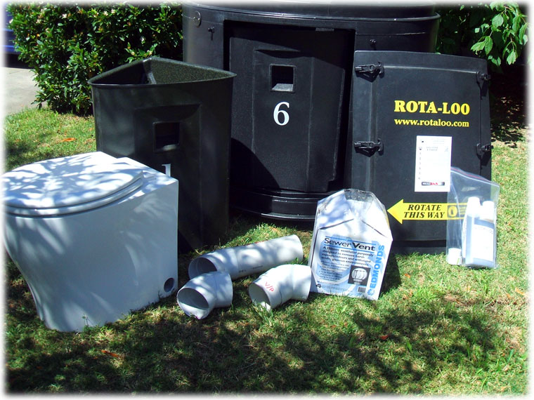 Composting Toilet Kit