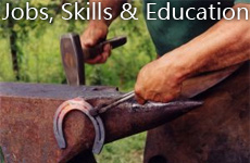 JOBS, SKILLS AND EDUCATION